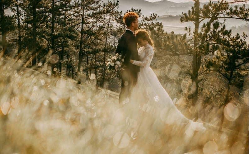 Chụp ảnh cưới Đà Lạt vào mùa khô