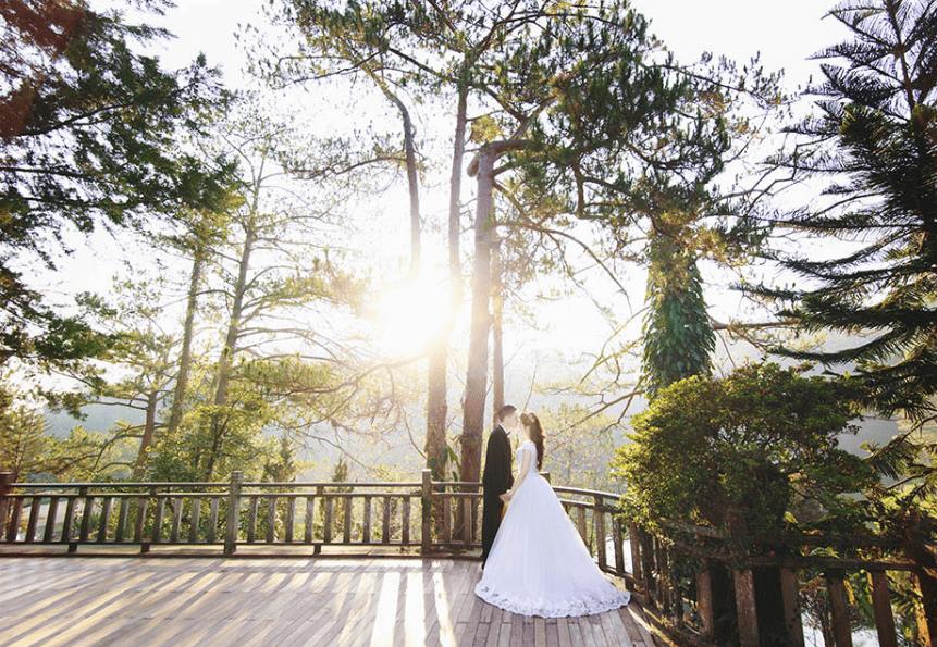 bảng giá chụp ảnh cưới Đà Lạt