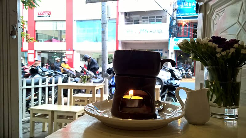 cafe trứng