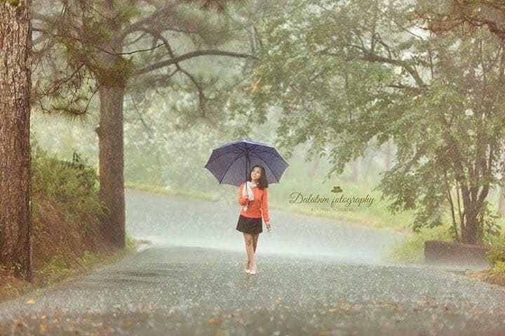 mưa đà lạt