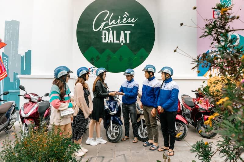 Công ty Happy Day Travel cho thuê xe máy Đà Lạt