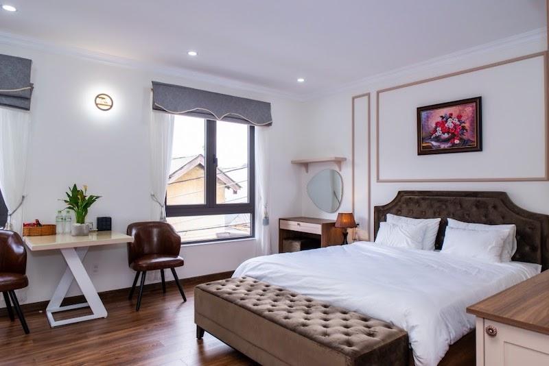Studio Double - Phòng nghỉ đón nắng siêu đẹp tại N'Queen Villa