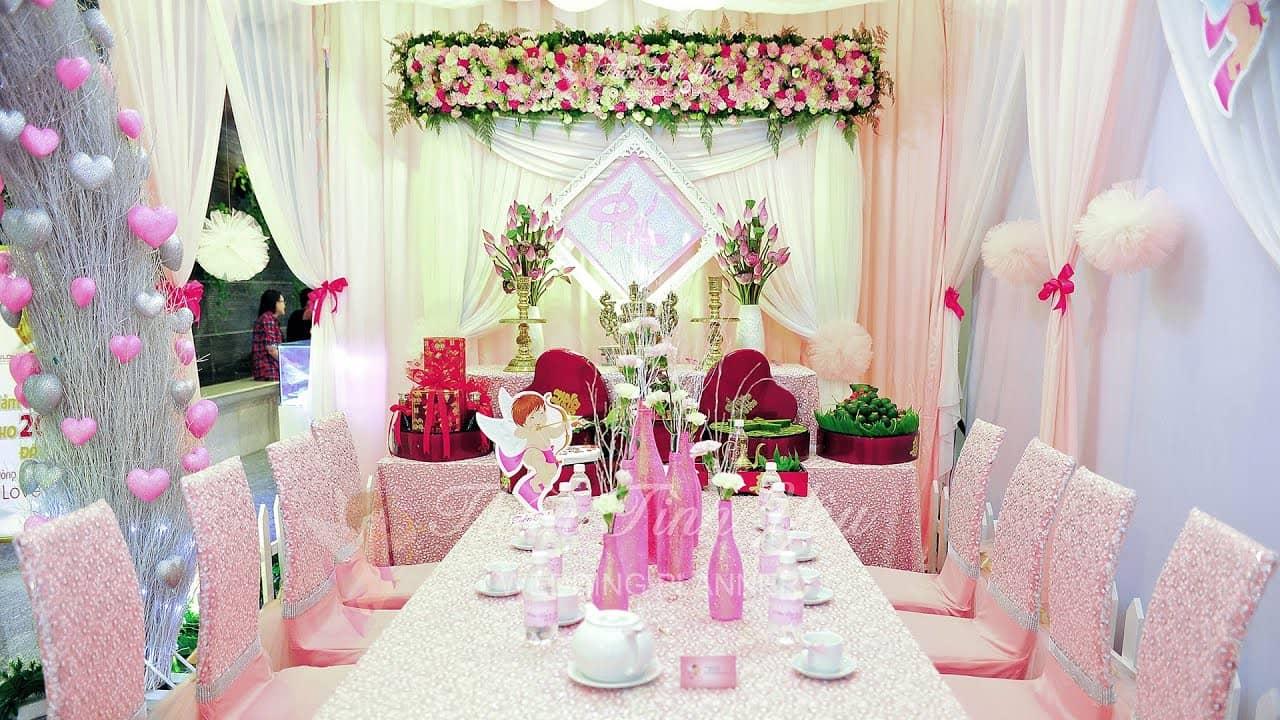 Dịch vụ trang trí tiệc cưới - hỏi Đà Lạt