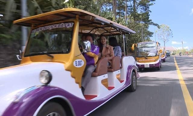 xe điện du lịch Đà Lạt