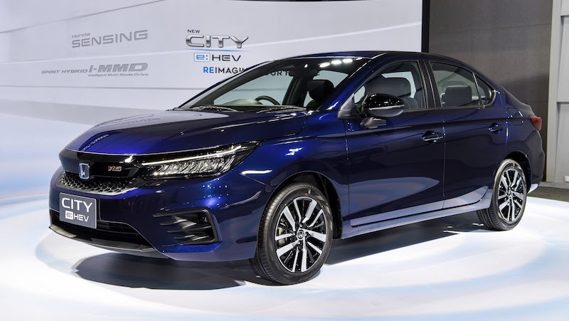 Honda City chiếm vị trí Á quân trong phân khúc xe Sedan hạng B
