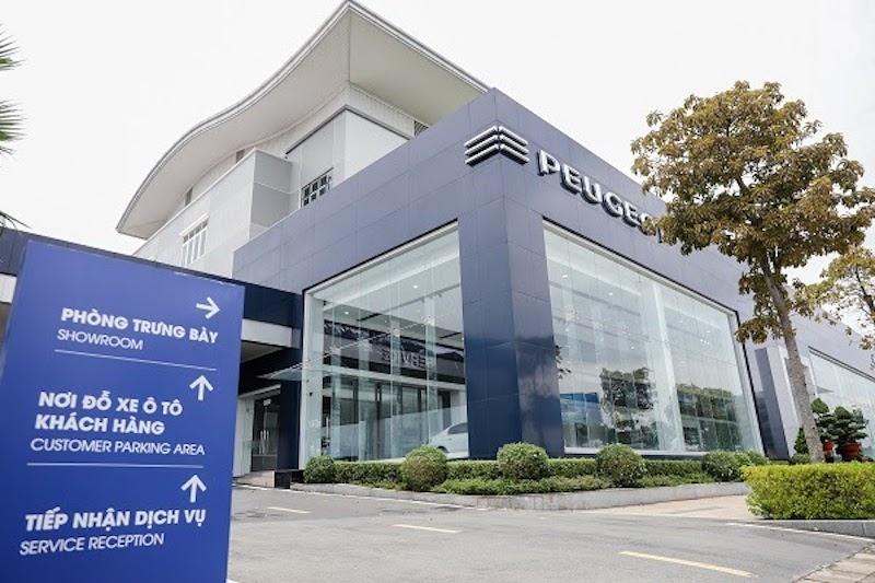 Peugeot có nhiều showroom chất lượng tại Việt Nam